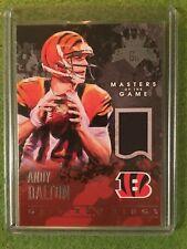 4fb0a826b ANDY DALTON JERSEY PATCH Card SSP  249 Cincinnati Bengals QB Rare Football  Relic