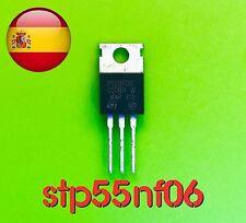 STP55NF06 55NF06 p55nf06 mosfet st to-220 ic diy envío rápido desde España