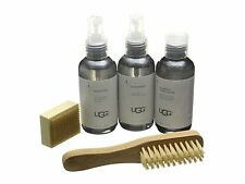 UGG Sheepskin & Suede Care Kit Includes Cleaner Protector + Eraser + Brush NEW