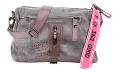 GEORGE GINA & LUCY Nylon The Drops Tasche Rose Mesh Rosa Braun Neu