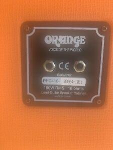 Orange PPC412 4x12 Straight Guitar Speaker Cabinet