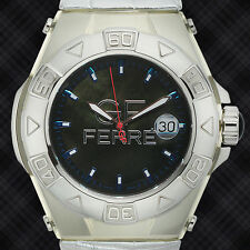 GF Ferre Large Round Mens Watch Purple face / RETAILS AT $899.99