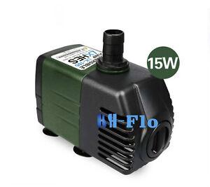 220V,1800L/H Submersible Pump Aquarium Fish Tank Fountain Water Hydroponic