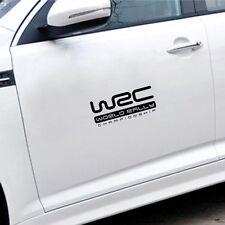 WRC car decal sticker(8 x 3.5 inch)2 Pcs Windows Car Sticker
