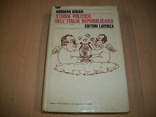 NORMAN KOGAN: STORIA POLITICA DELL'ITALIA REPUBBLICANA. LATERZA 1982 PRIMA EDIZ.