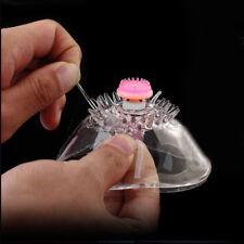 Woman Breast Nipple Massager Vibrator Suction Rotation Stimulation MultiSpeed A+