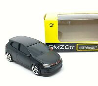 Volkswagen VW Golf GTI Black Diecast Car 1/64 (Approx 2.5 inches) RMZ City