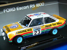 Sunstar Ford Escort RS1800 3rd RAC Rally #23 R.Brookes / J.Brown 1977 1:18 Model