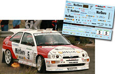 Decal 1:43 Luis Monzon - FORD ESCORT COSWORTH - Rally El Corte Ingles 1995