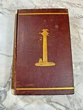 """New listing 1873 Antique History Book """"Italy: Florence & Venice"""""""