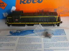 NEUVE SNCF LOCOMOTIVE DIESEL BB  63998 ROCO REF 43467