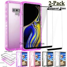 Shockproof Bumper Hybrid Armor Case Cover For Samsung Galaxy Note 10 Plus/Note 9