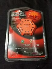 New Aervoe 1165 Super LED Red Road Flare & Beacon - Sealed in Package