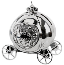 Princess Cinderella Carriage Money Box By Bambino
