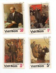 Vietnam, Vladimir Lenin, 4v; mint unhinged