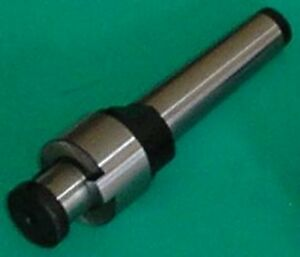 """3 Morse 1 inch stub milling arbor 2/"""" long Quality With Key 1/"""""""