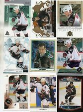 9-tony amonte all phoenix coyotes card lot nice mix +ud mini r67 crown royale 73