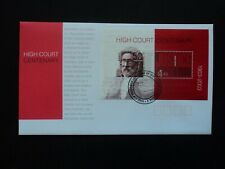 Australia First Day Cover FDC 2003 High Court Centenary minisheet