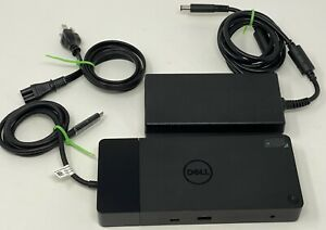 Dell WD19 USB Type-C Docking Station with 180W AC Adapter - Black