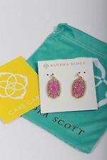 Kendra Scott Womens Dani Kyocera Opal Drop Earrings