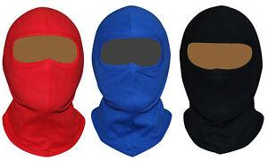 BALACLAVA OPEN FACE MOTORCYCLE MOTORBIKE HELMET SOFT SKI 100% COTTON Face mask