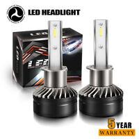 H1 LED Headlight Conversion Kit 12000LM Hi Lo Beam Bulbs White 6000K HID White