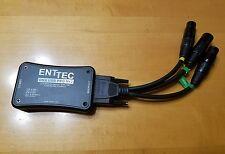 USB DMX PRO Mk2 ENTTEC 70314 DMX XLR MIDI Controller 1024 Channel 2 Univ. Mac/PC