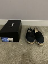 Men's Chanel Espradille 45 Size 12 Black