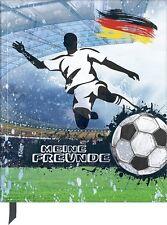Freundebuch Kindergarten Poesiealbum Brunnen Fussball Fußball 2017