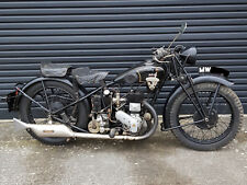 ariel 550cc model b delux vintage motorcycle - 1929 - all matching numbers