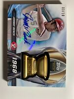 Johnny Bench 2018 Topps Rookie Cup Greats Medallion Card Auto 3/10