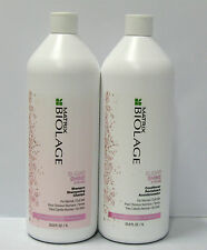Biolage Sugar Shine Shampoo Conditioner 33.8 oz Liter Set Duo Matrix