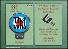 Royale Classic Car Badge & Bar Clip THE WHO MOD TARGET Ulma Vigano B1.0369