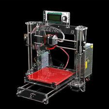 Free ship Geeetech Reprap Clear Arcylic 3D Printer PrusaI3 ProB MK8 extruder DIY