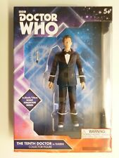 """Doctor Who 10th Tenth Doctor in Tuxedo figure. Brand new in box. 5"""" scale"""