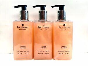 3 X Pecksniffs Orange Blossom Moisturising Hand Wash 3 X 300ml