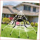 """Halloween Decorations Outdoor Spider Decoration - 200"""" Halloween Spider Web 49"""""""