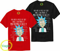 Rick And Morty You Are A Piece Of Sh*t Funny ADULT SWIM SCHWIFTY T-SHIRT S-XL UK