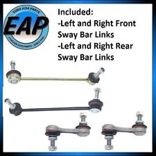 For BMW 525I 528I 530I Front Rear LFT RT Suspension Stabilizer Sway Bar Link KIT
