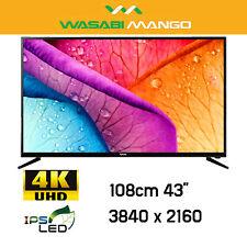 "WASABI MANGO ZEN U430 UHD TV Palette Slim IPS LED 43"" 3840 x 2160 4K HDMI2.0"