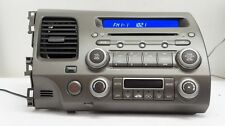 2008 Honda Civic HYBRID RADIO AM-FM-CD 39101-SNA-A610-M1 2AH0