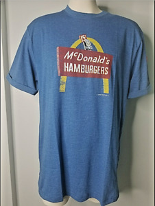 AUTHENTIC Mens Small McDonald's Apparel Collection SPEEDEE  T-SHIRT 1st Edition