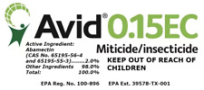 AVID Insecticide 0.15 EC Miticide - Spider Mite Control - 2 oz. + Dosage Syringe