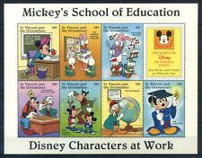 Saint Vincent e Grenadine 1996 Minifoglio 100% ** Disney