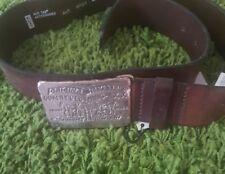 CINTA LEVI'S MARRONE CON FIBBIA Cavalli Size 90/36