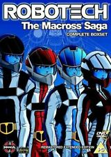 ROBOTECH  MACROSS SAGA COMPLETE SERIES DVD Robert V Barron UK  Brand New R2