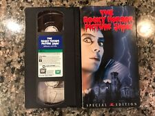 The Rocky Horror Picture Show Vhs! 1975 Horror Musical! Shock Treatment Clue