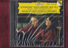SCHUMANN-SONATE X PIANO VIOLINO OP.105,OP.121 KREMER,ARGERICH CD NUOVO SIGILLATO