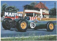Jim Clark, French GP 1963, art print