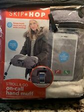 Skip Hop Stroll & Go On-Call Hand Muff Heather Grey